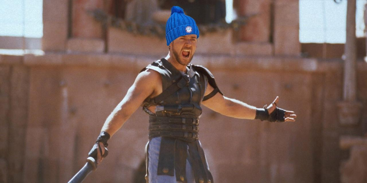 """""""ARE YOU NOT ENTERTAINED?"""""""