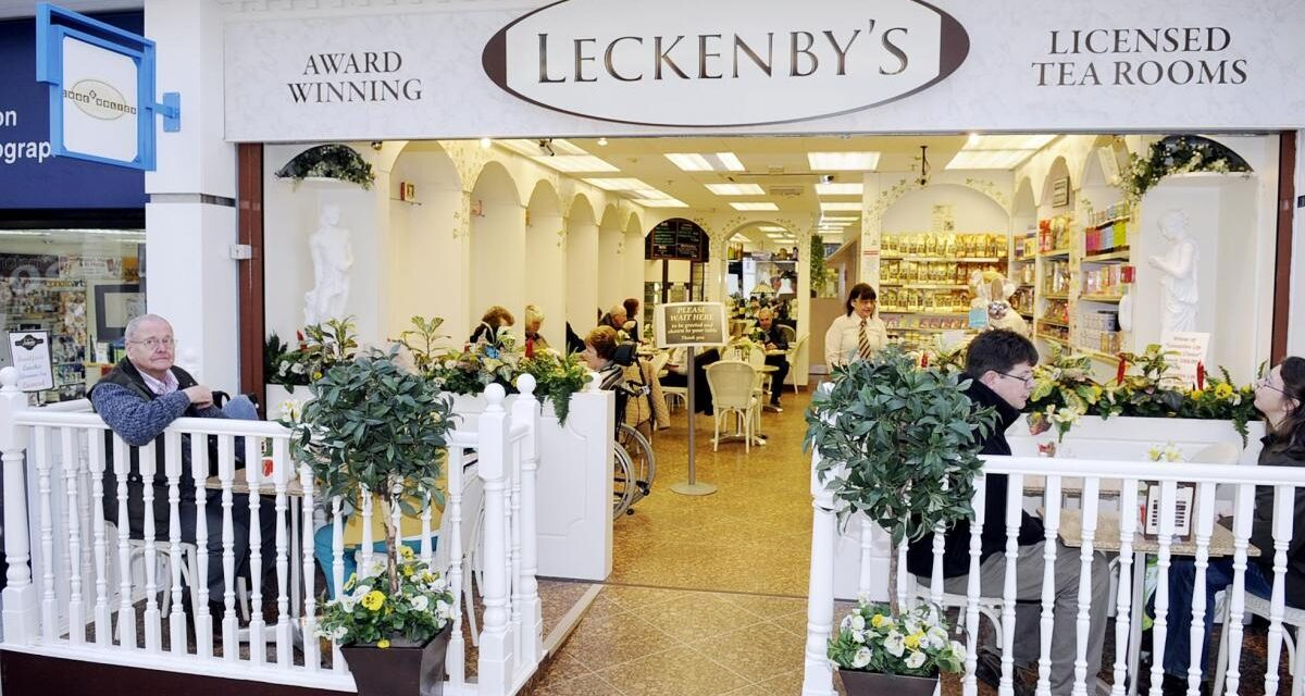 LECKENBY'S TEAROOM IN PARLIAMENT